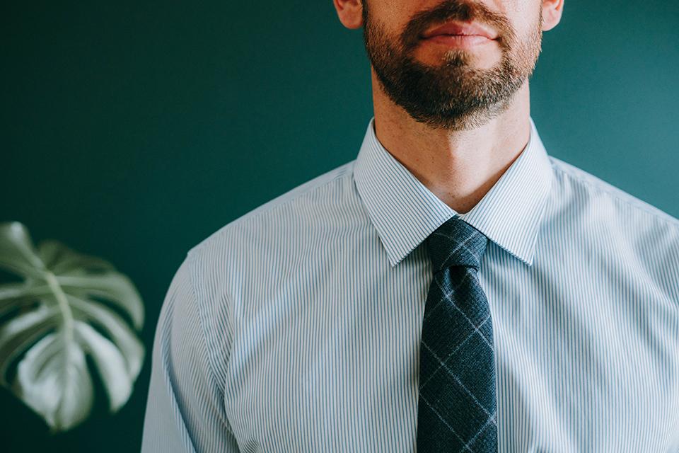 Assortir Cravate Chemise Rayures