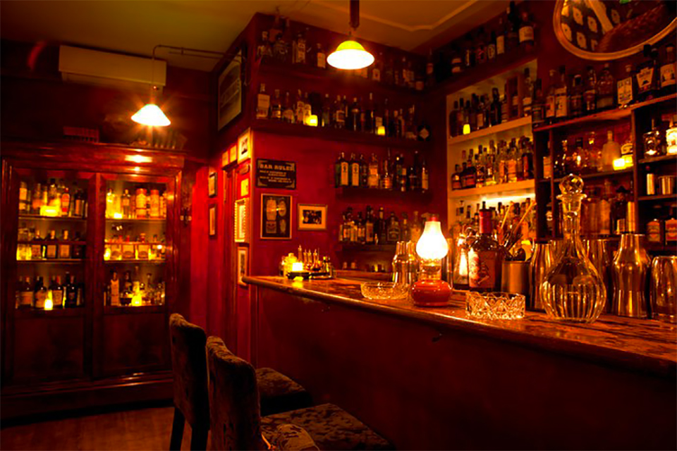Bar Jerry Thomas Speakeasy Rome