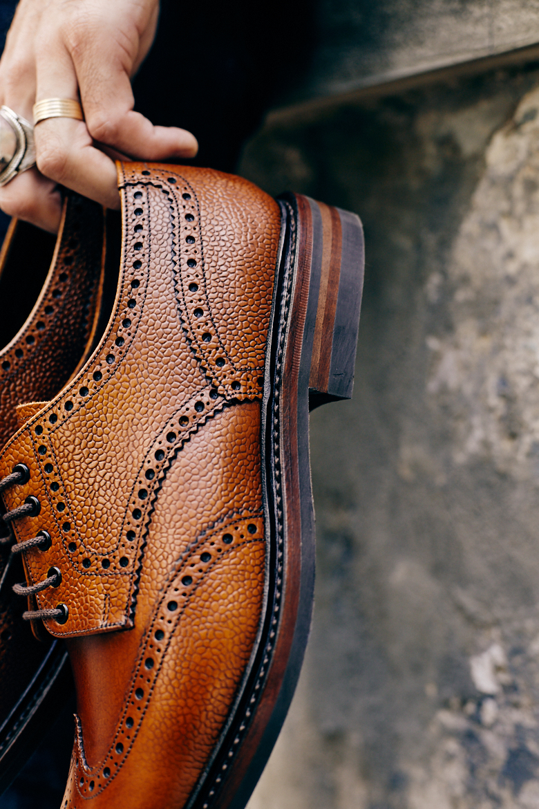 british shoes loake brogues cuir