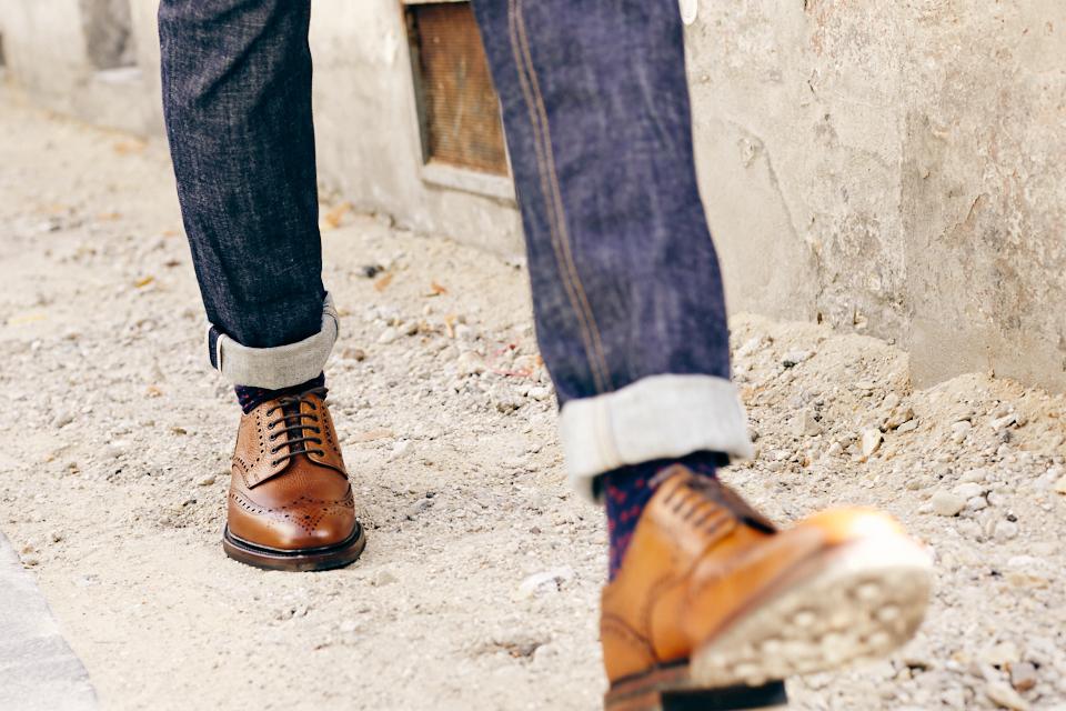 british shoes loake brogues cuir