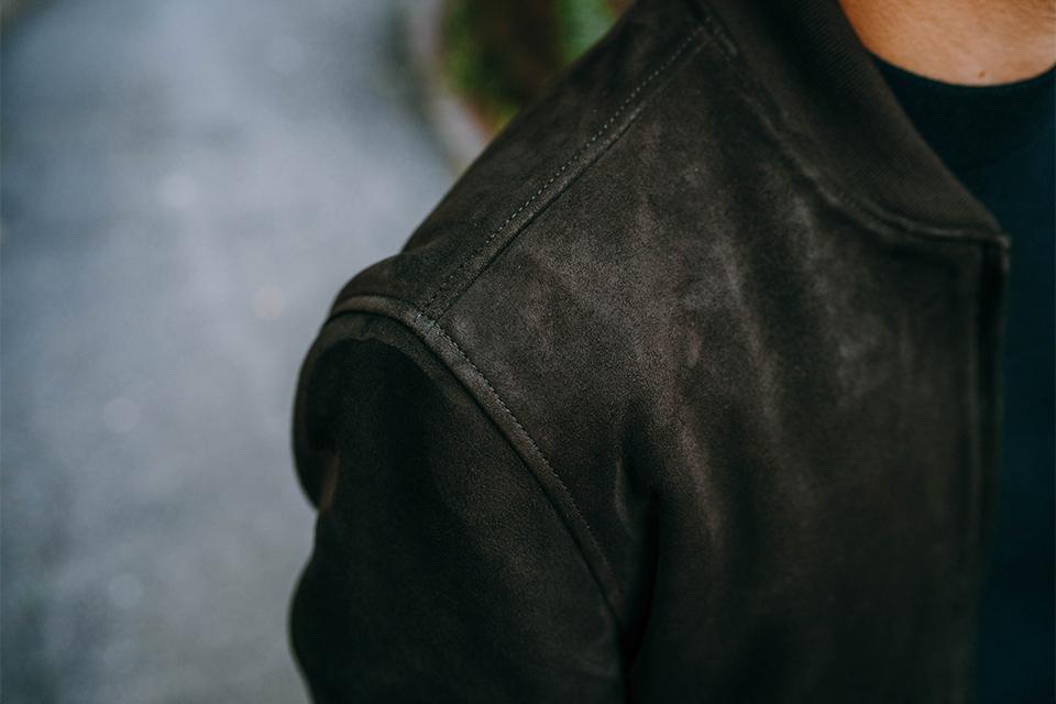 Focus cuir blouson asphalte