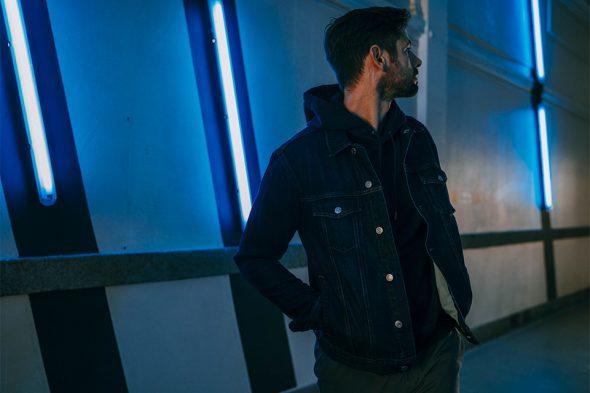 hoodie veste en jean everlane