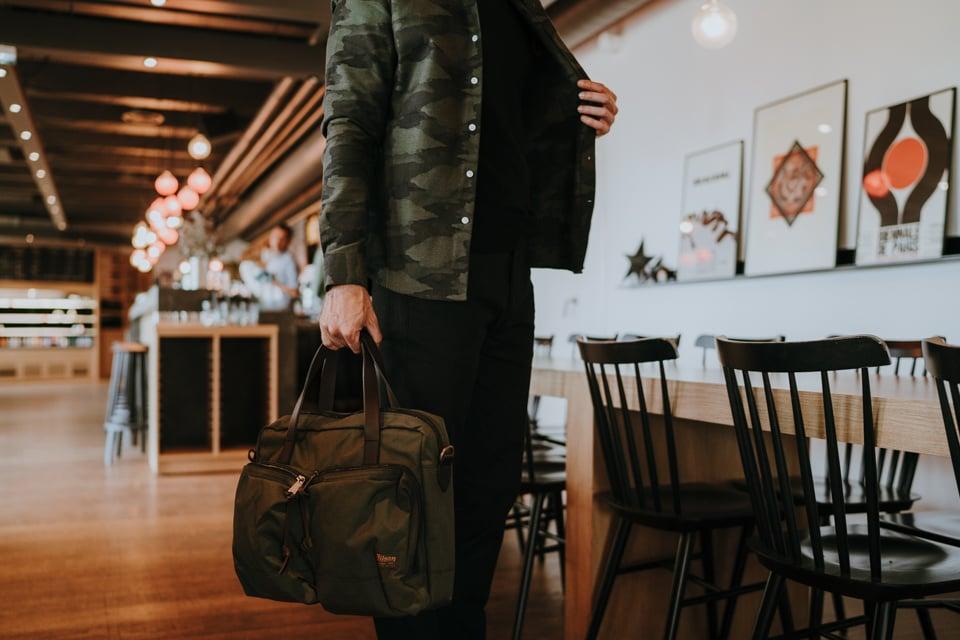 look homme automne 2019 tenue sac pantalon