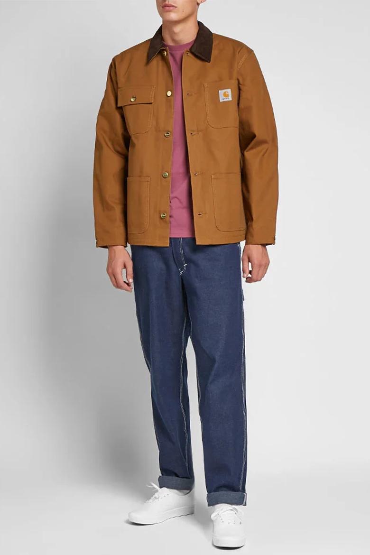 veste carhartt core coat camel blousons AH19
