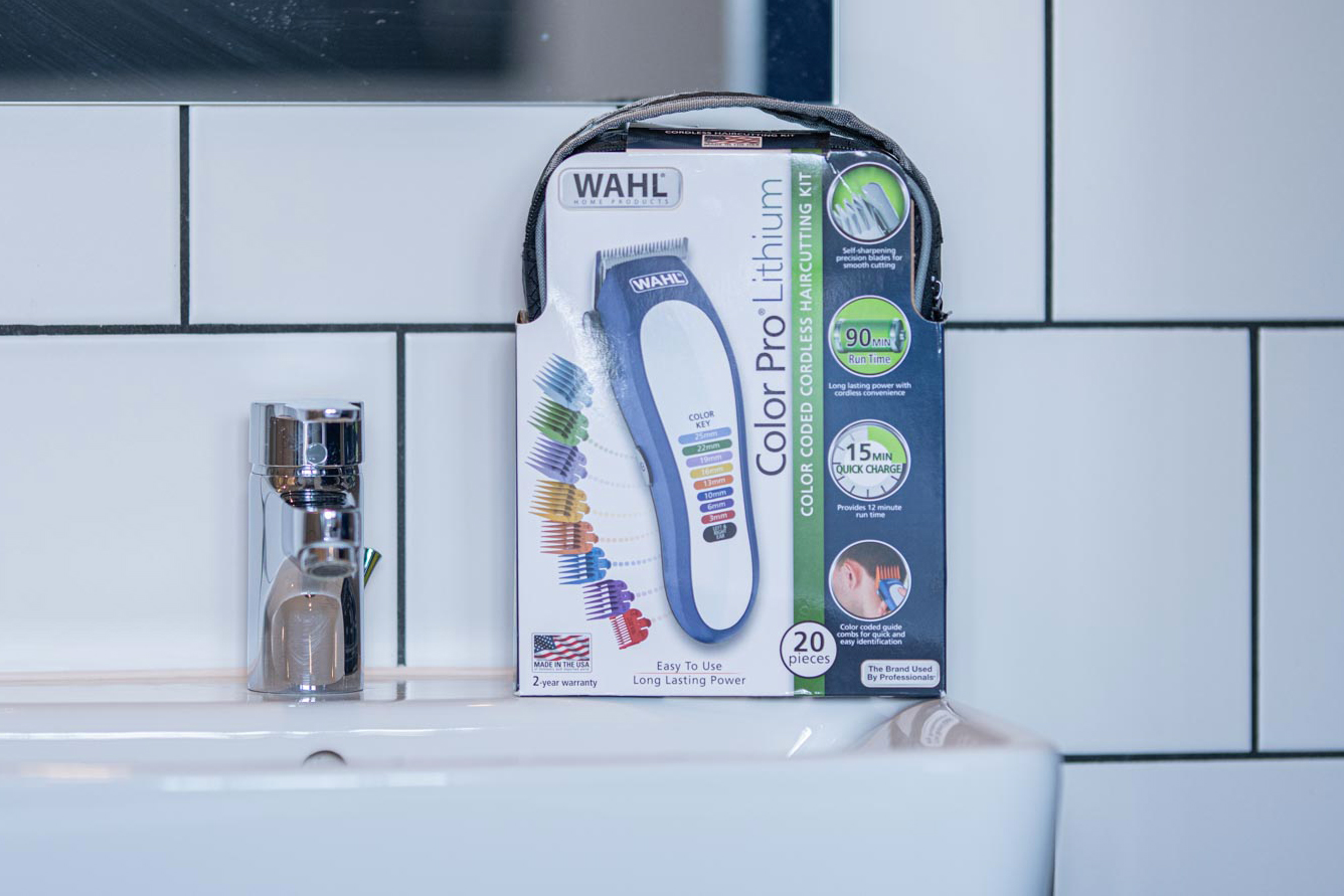 Wahl Color Pro Lithium packaging carton