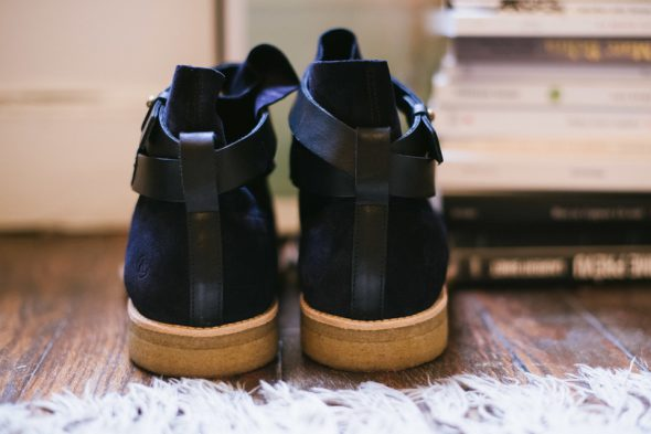 Angarde Boots Crepe