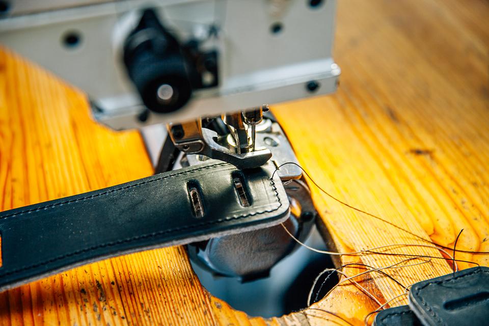 Atelier Bleu de chauffe couture sellier