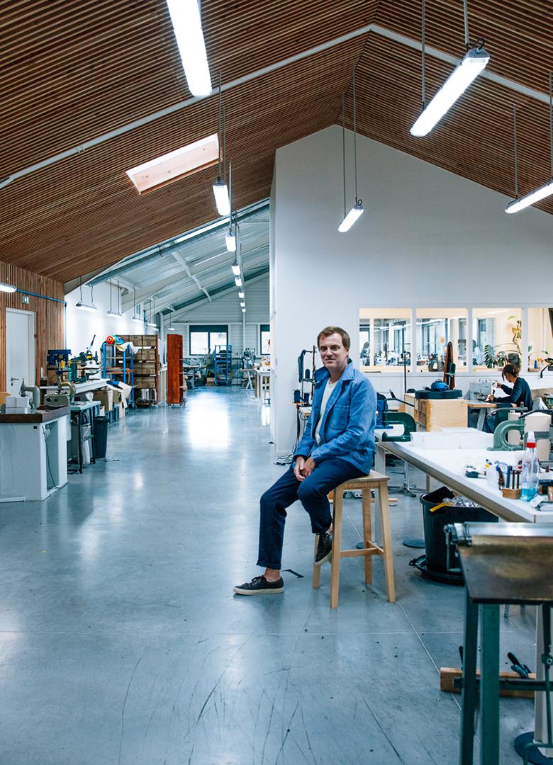 Atelier Bleu de chauffe portrait Alexandre Rousseau