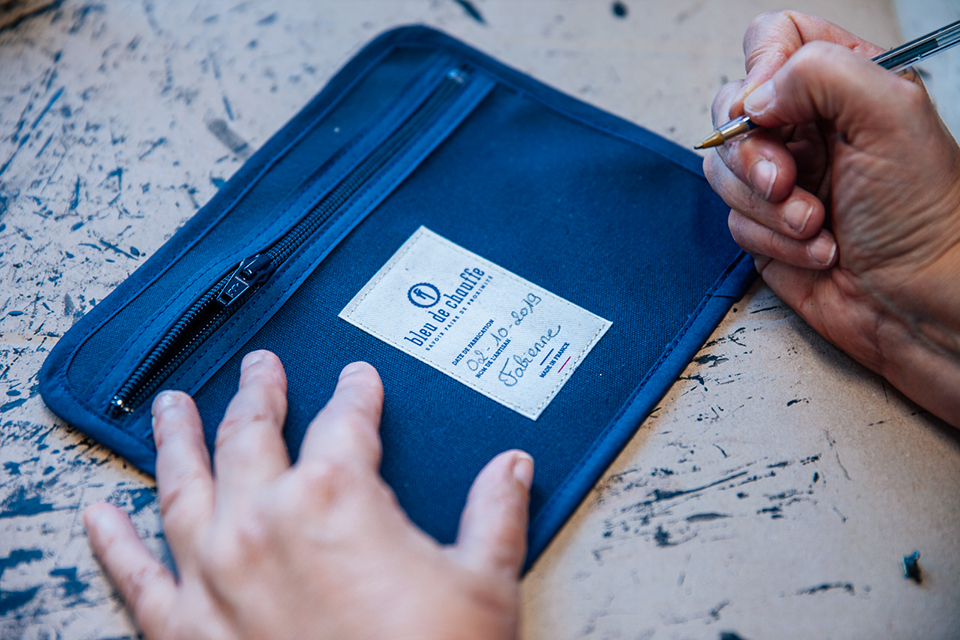 Atelier Bleu de chauffe signature