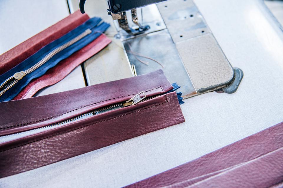 Atelier Bleu de chauffe zip