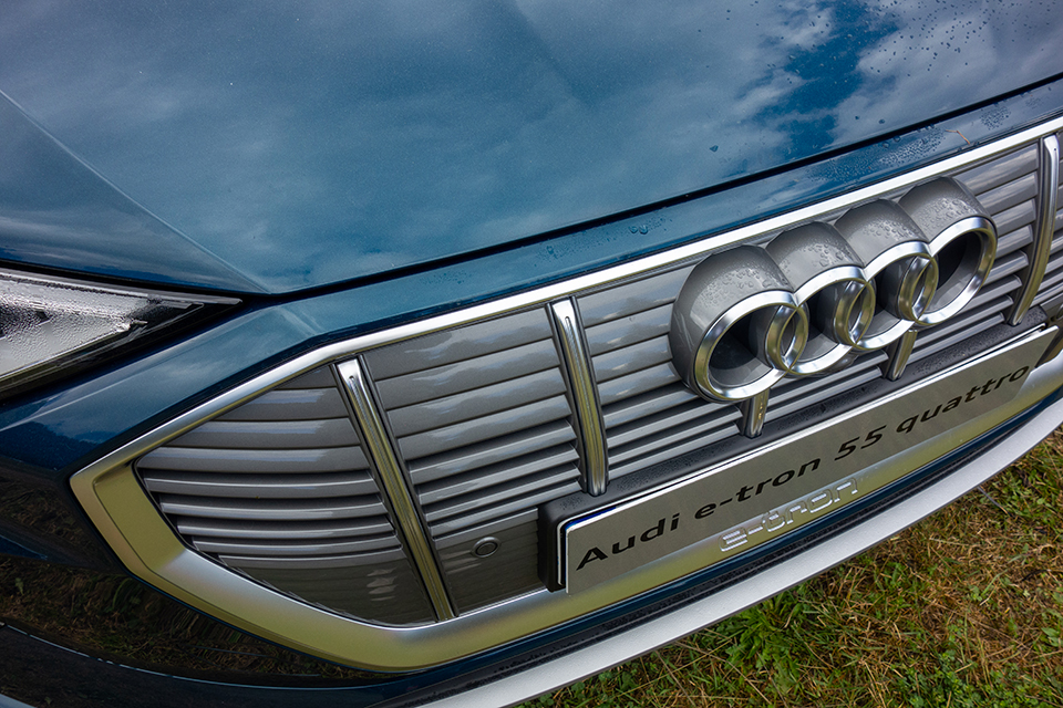 Audi E-Tron Calandre
