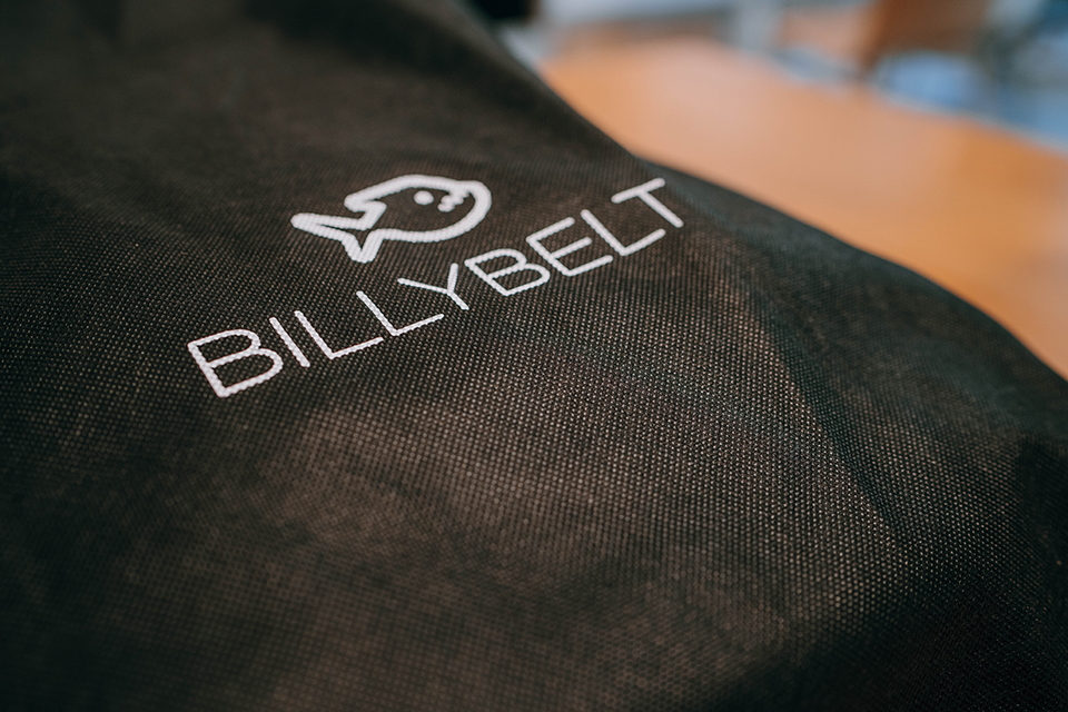 BILLYBELT Sac Waterproof Logo