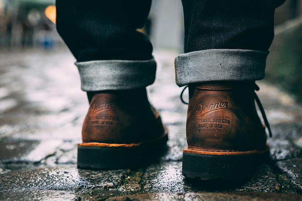 Boots Danner contrefort
