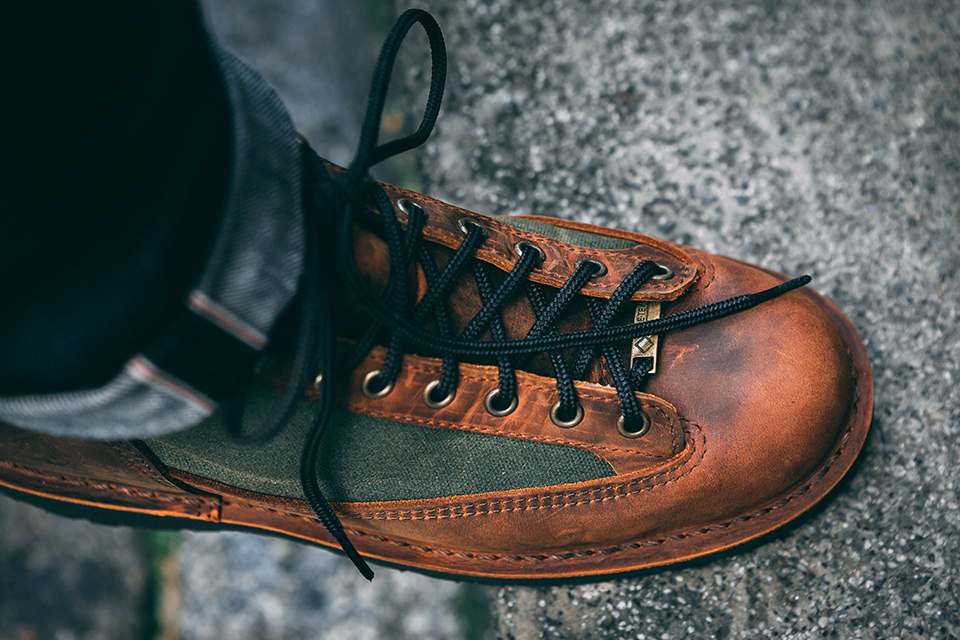 Boots Danner lacage