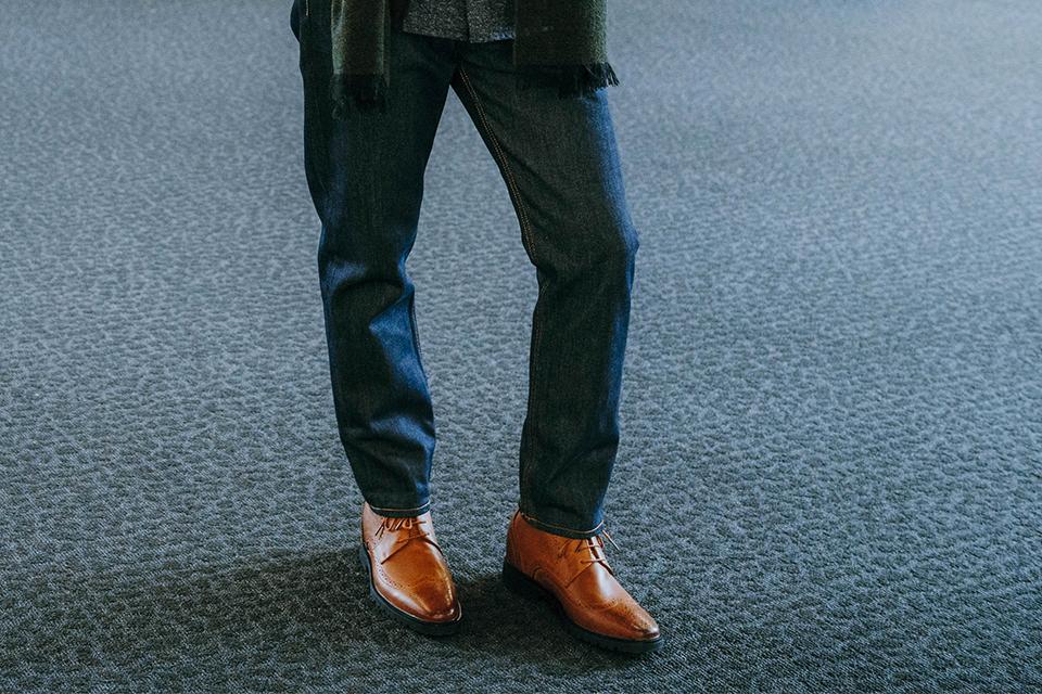 Chaussures rehaussantes homme petit