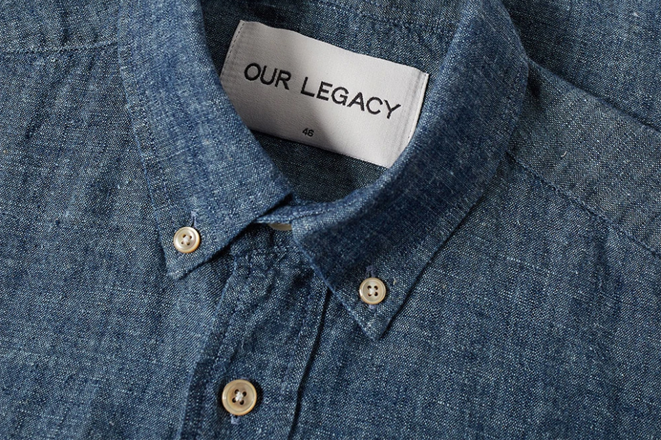 Chemise en chambray Our Legacy