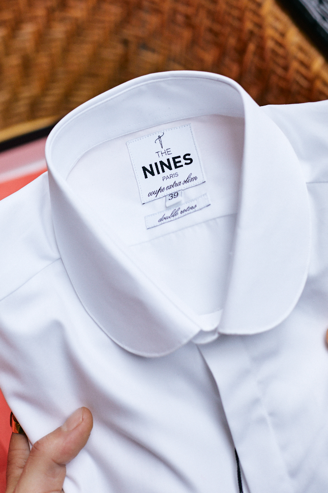Chemise Popeline Col Rond The Nines