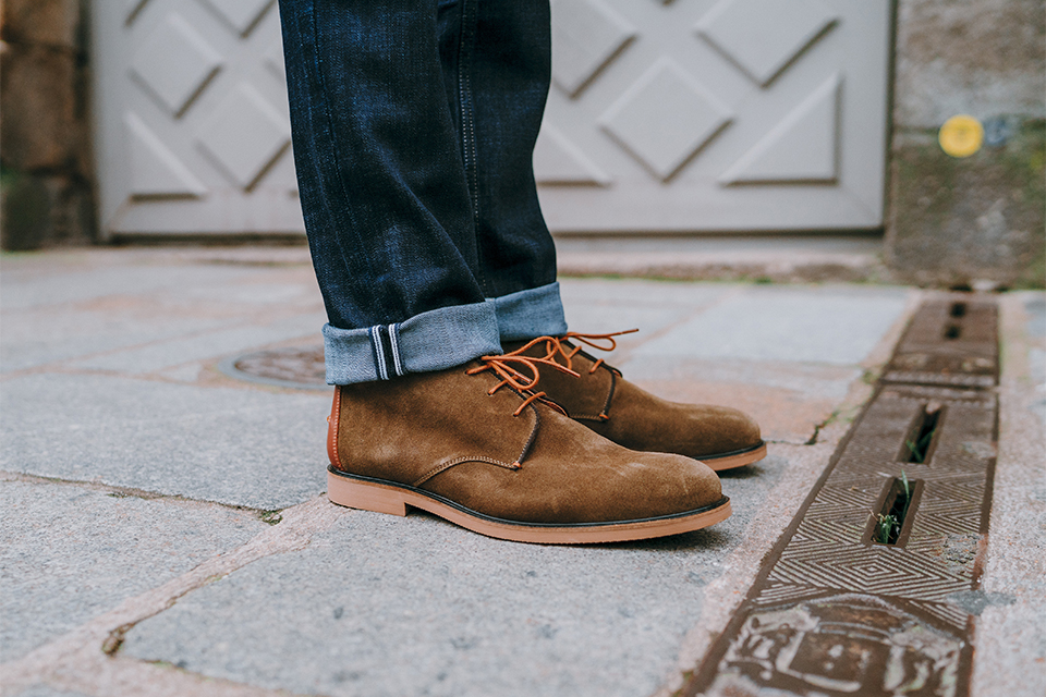 Chukka boots faguo