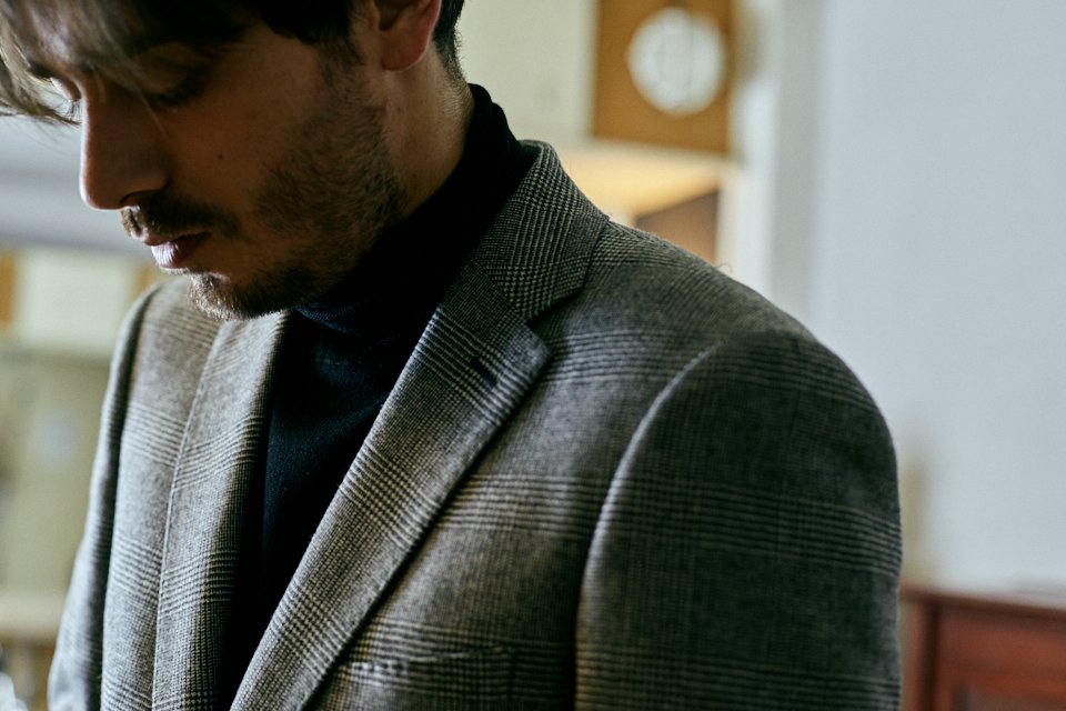 look blazer sur mesure tailor trucks zorzetto