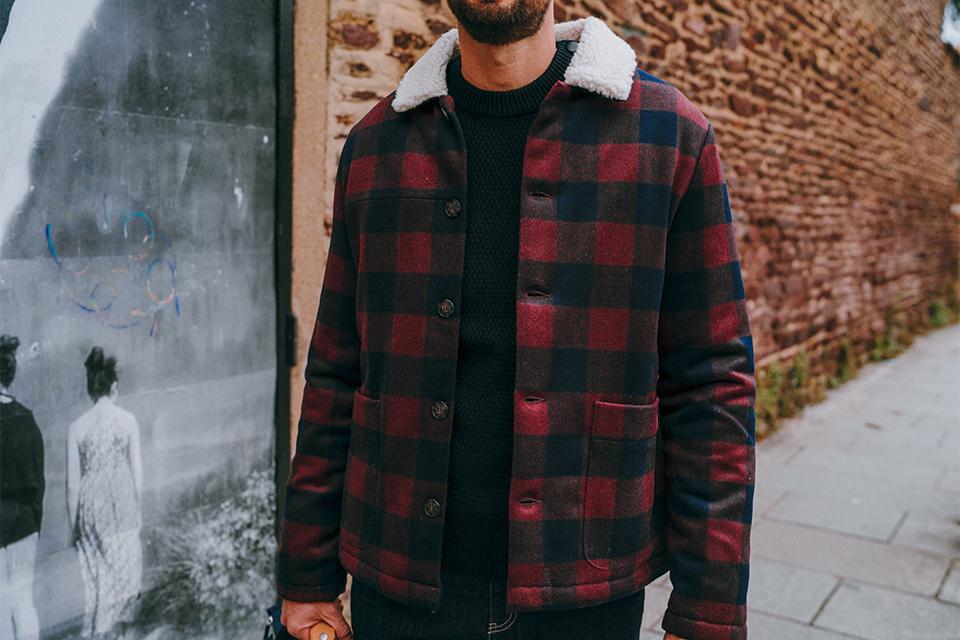 Manteau laine Faguo