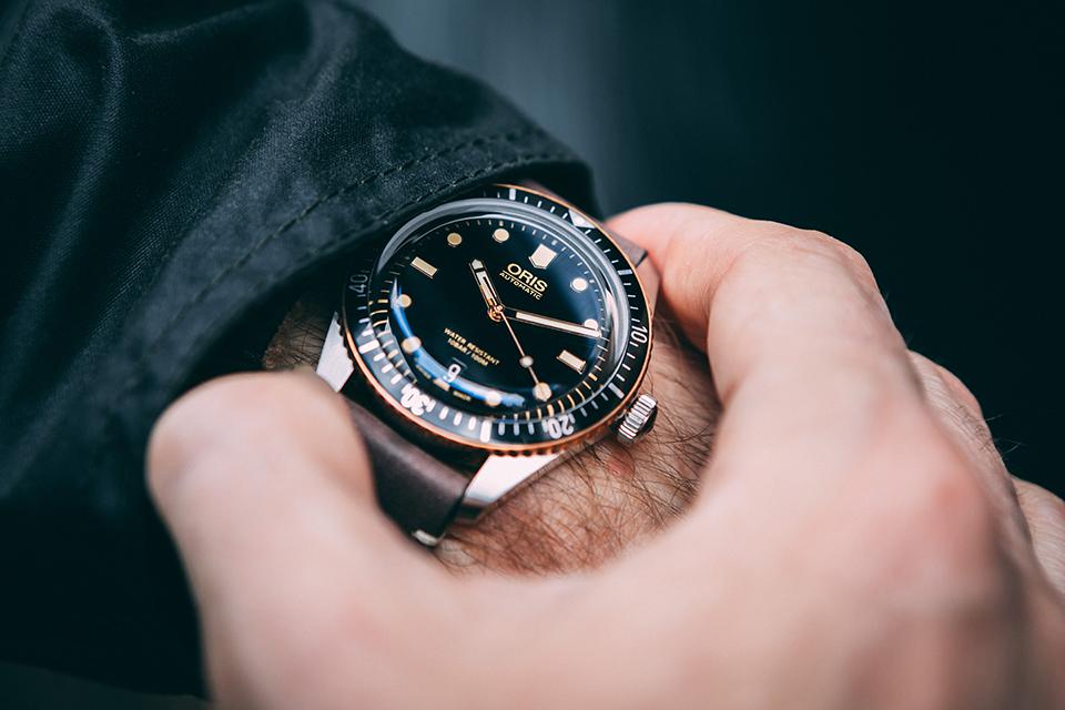 Montre oris Divers Sixty-Five focus