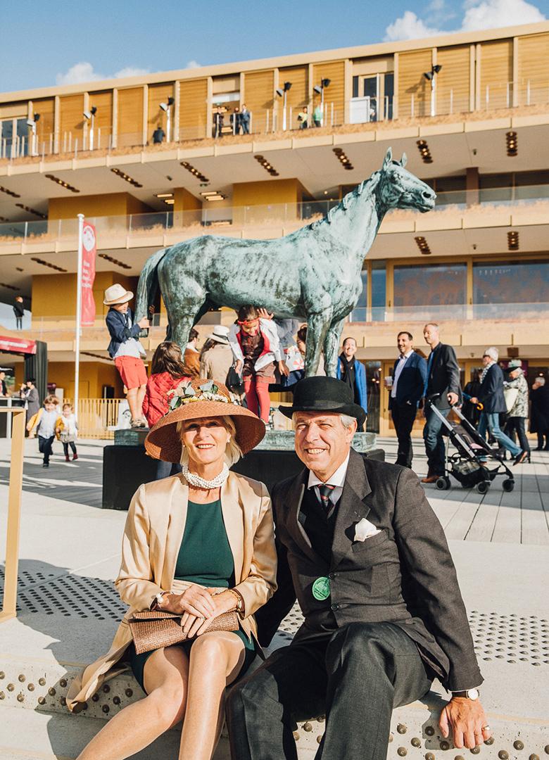 QPAT Entrée cheval couple