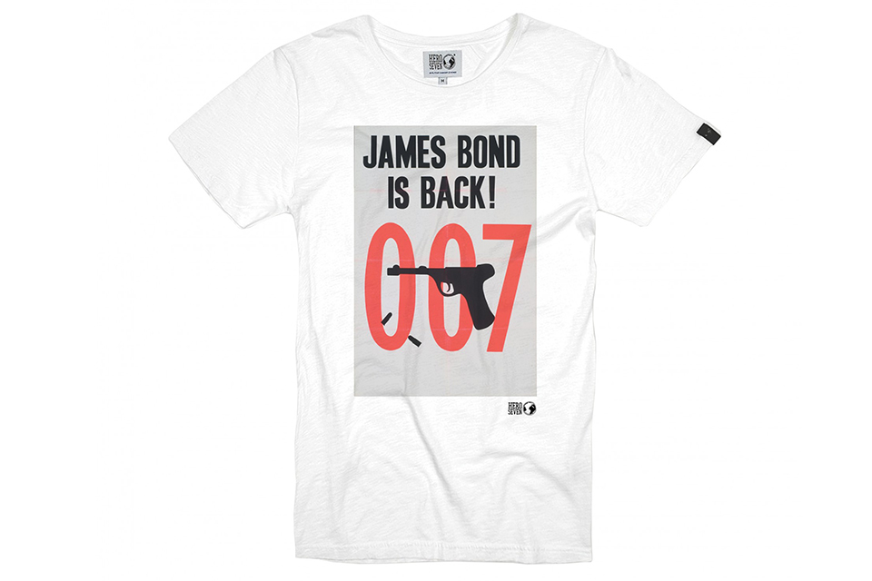 t shirt hero seven james bond is back