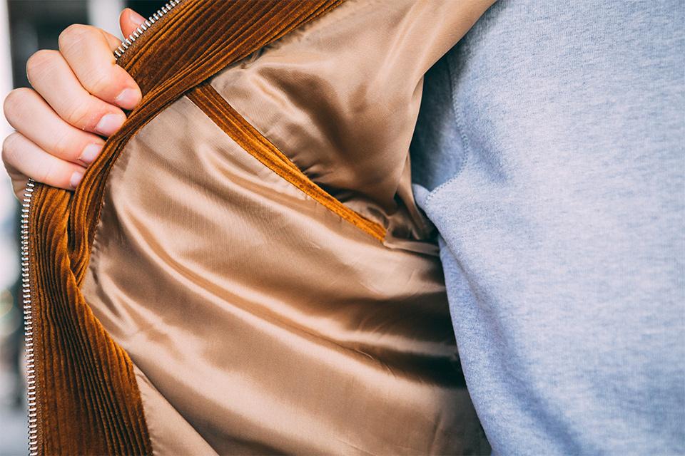 Blouson Lafaurie viscose poche