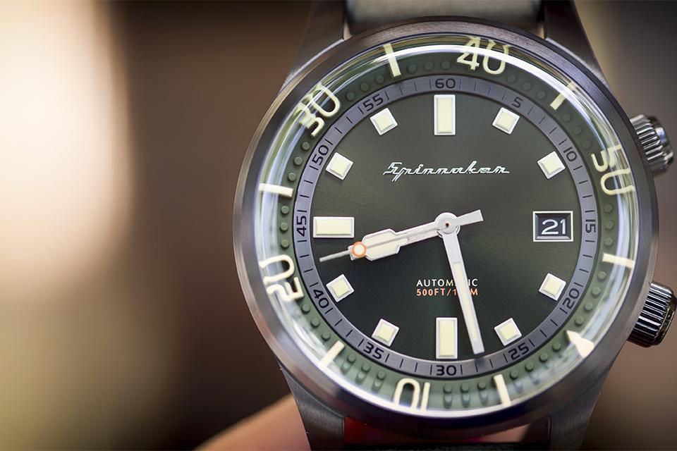 Cadran montre Spinnaker Bradner