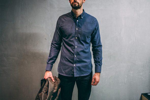 chemise hircus look d automne