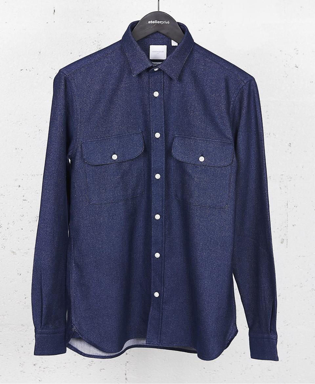 chemise twill de coton atelier privé liste noel max 2019