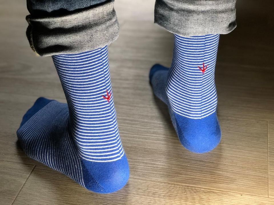 Estampille Chaussettes Socquettes