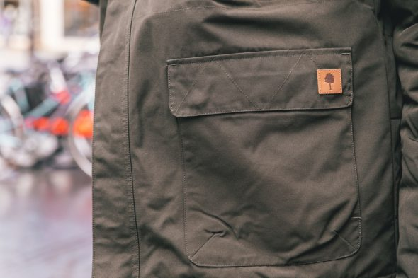 Faguo Parka Taille