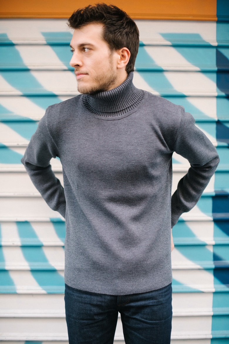Frenchaholic Pull Gris