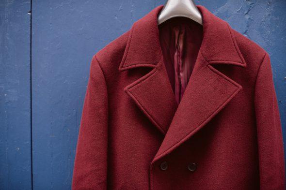 hockerty manteau bordeaux camby detail