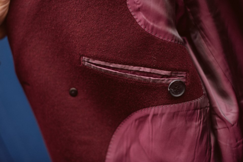 hockerty manteau bordeaux camby detail