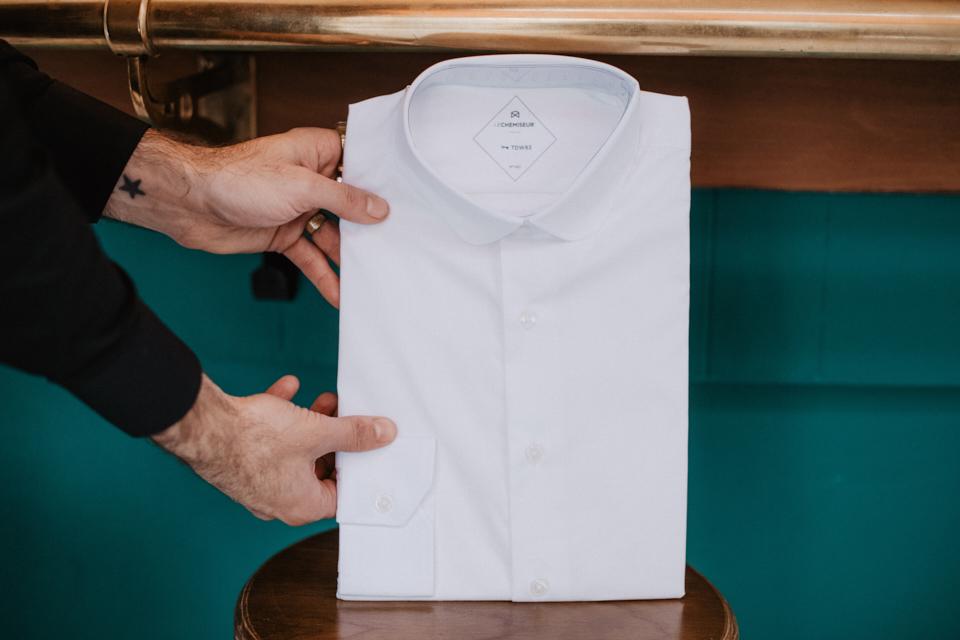le-chemile-chemiseur-col-rond-stretch-récéptionseur-col-rond-stretch-reception