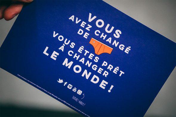 Le slip français slogan