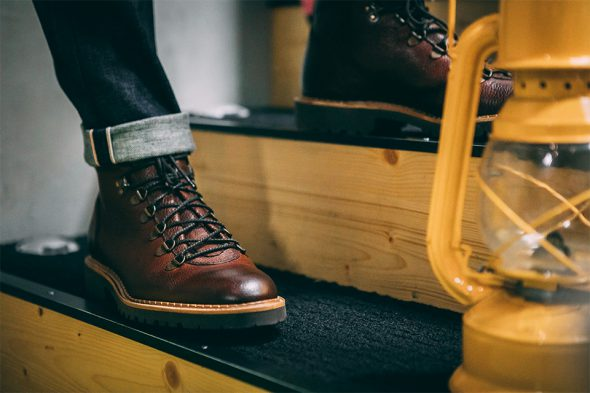 Look forêt jean selvedge workboots