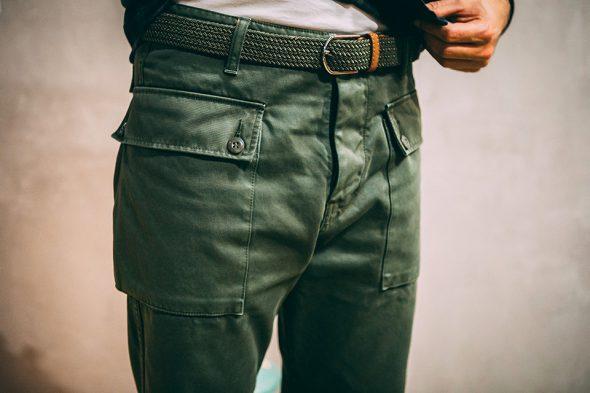 Look weekend fatigue pant ceinture