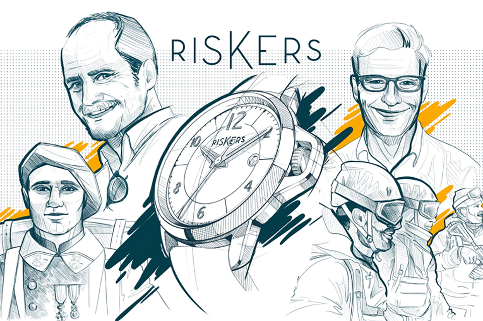 Montre Riskers illustration