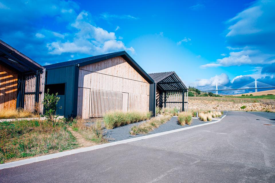 Atelier Bleu de chauffe Millau viaduc