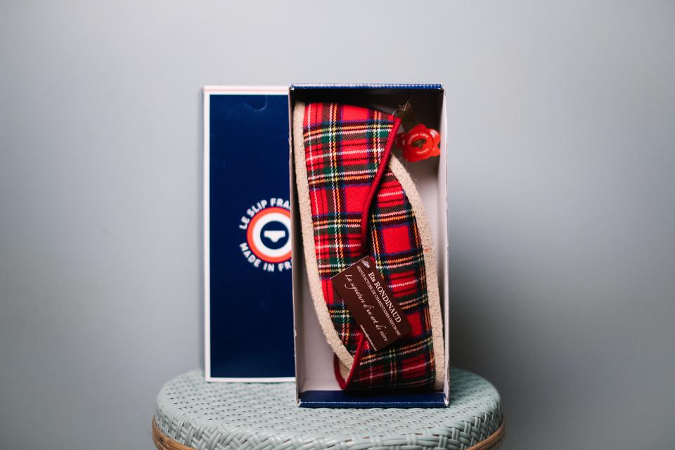 Slip Francais Charentaises Packaging