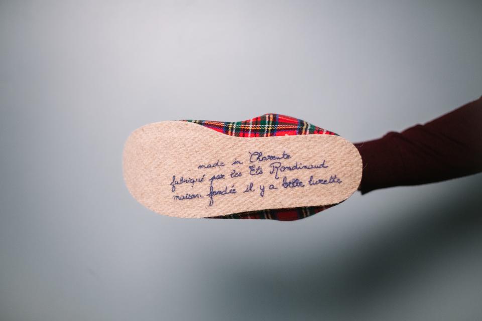 Slip Francais Charentaises Semelle