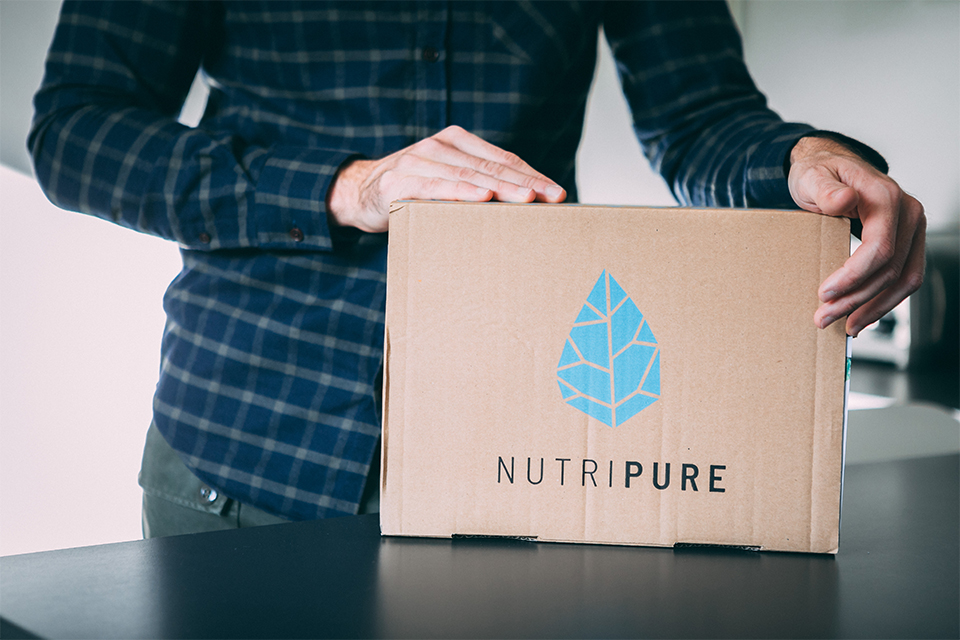 test avis nutripure complements musculation packaging
