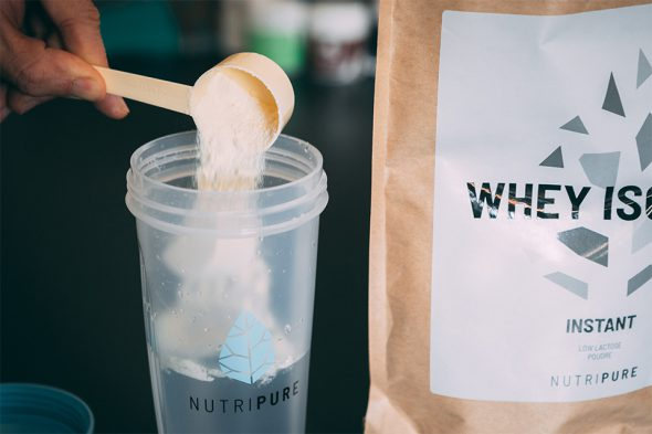 test avis nutripure complements musculation whey