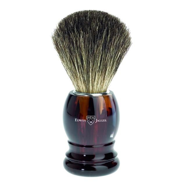blaireau rasage en poil véritable edwin jagger idee cadeaux barbu