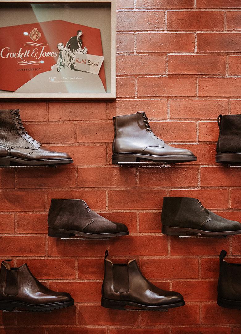 Boots Crockett & Jones ross boutique portrait