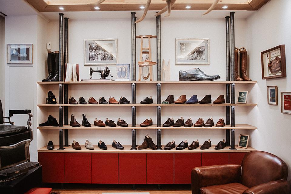 Boots Crockett & Jones ross boutique