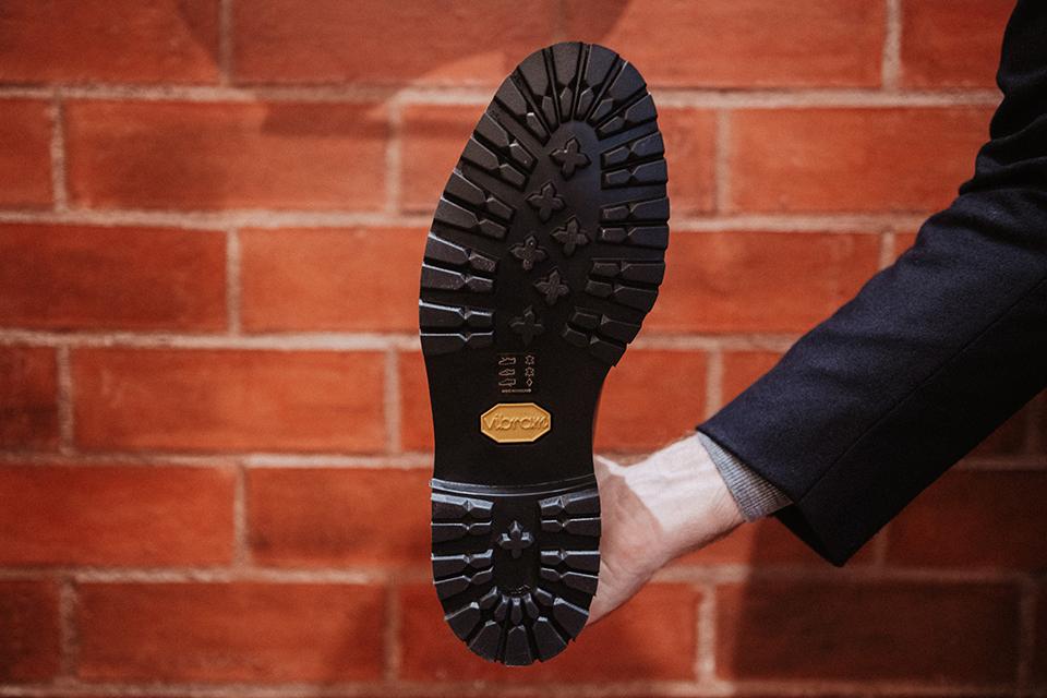 Boots Crockett & Jones Ross conception semelle vibram